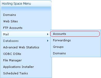 چگونه یک اکانت ایمیل در WebsitePanel ایجاد کنیم؟